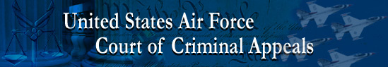 U.S. Air Force Judge Advocate General's Corps Criminal Court of Appeals